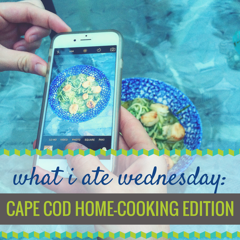 What I Ate Wednesday Cape Cod