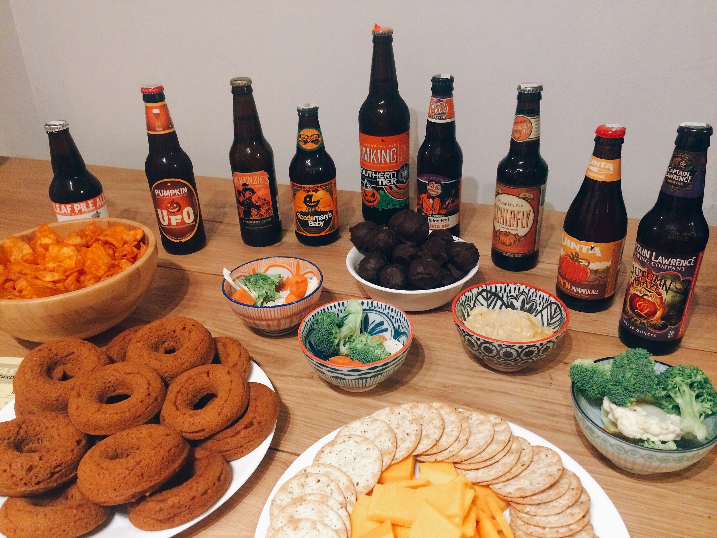 Pumpkin Beer Tasting