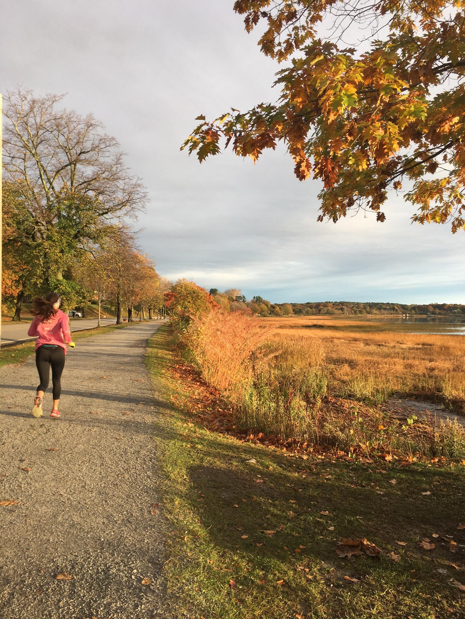 Running in Portland Maine