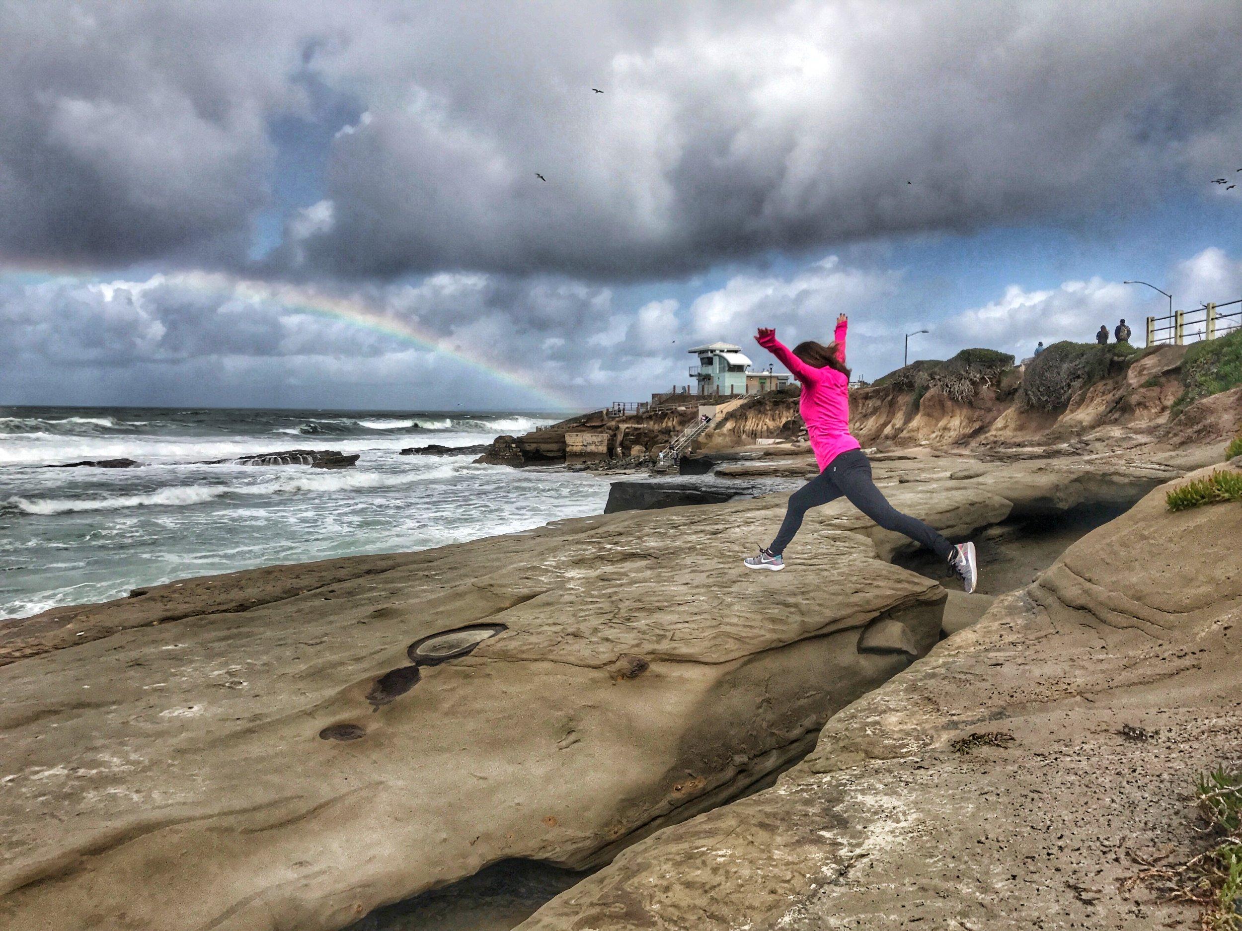 La Jolla Cove Rainbow