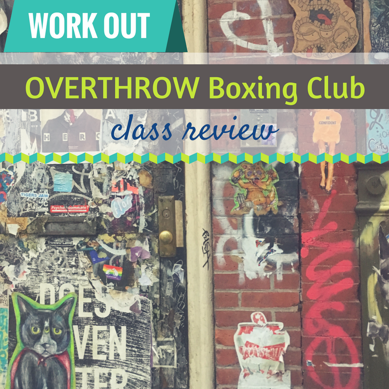 Overthrow Boxing Class Review