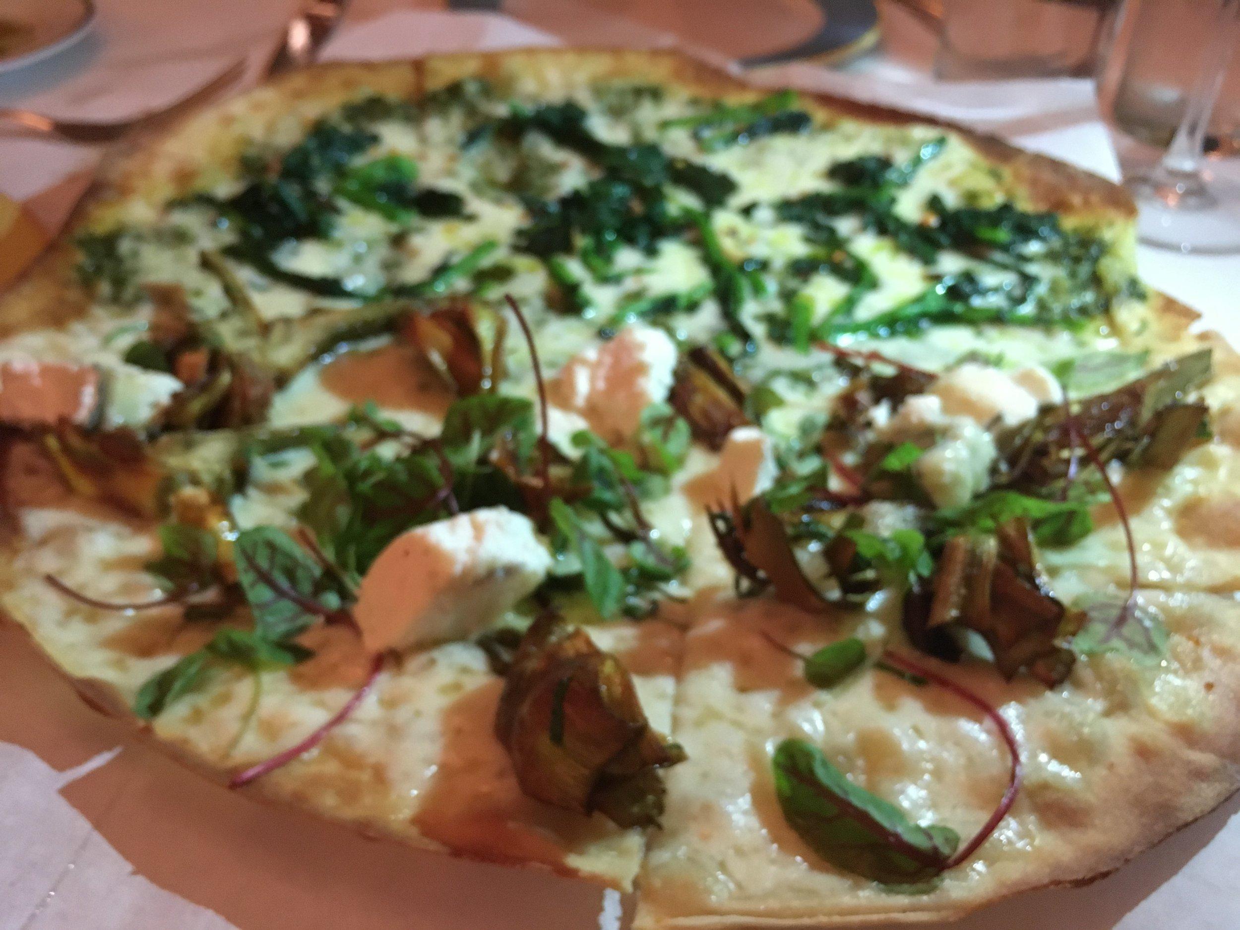 Trattoria Dell'Arte Thin Crust Pizza