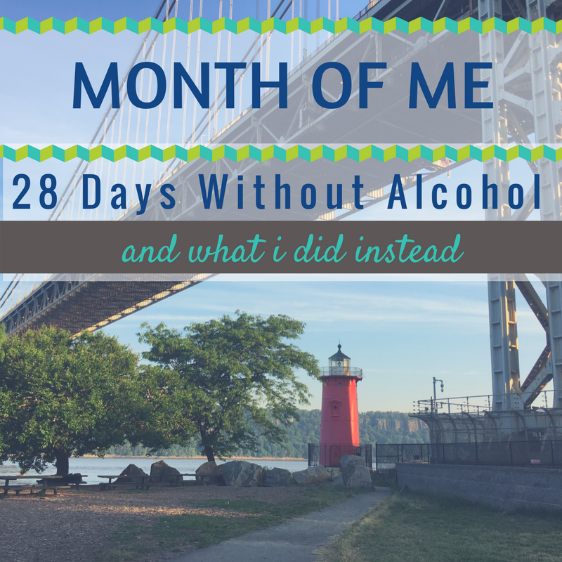 Month Alcohol Free Challenge