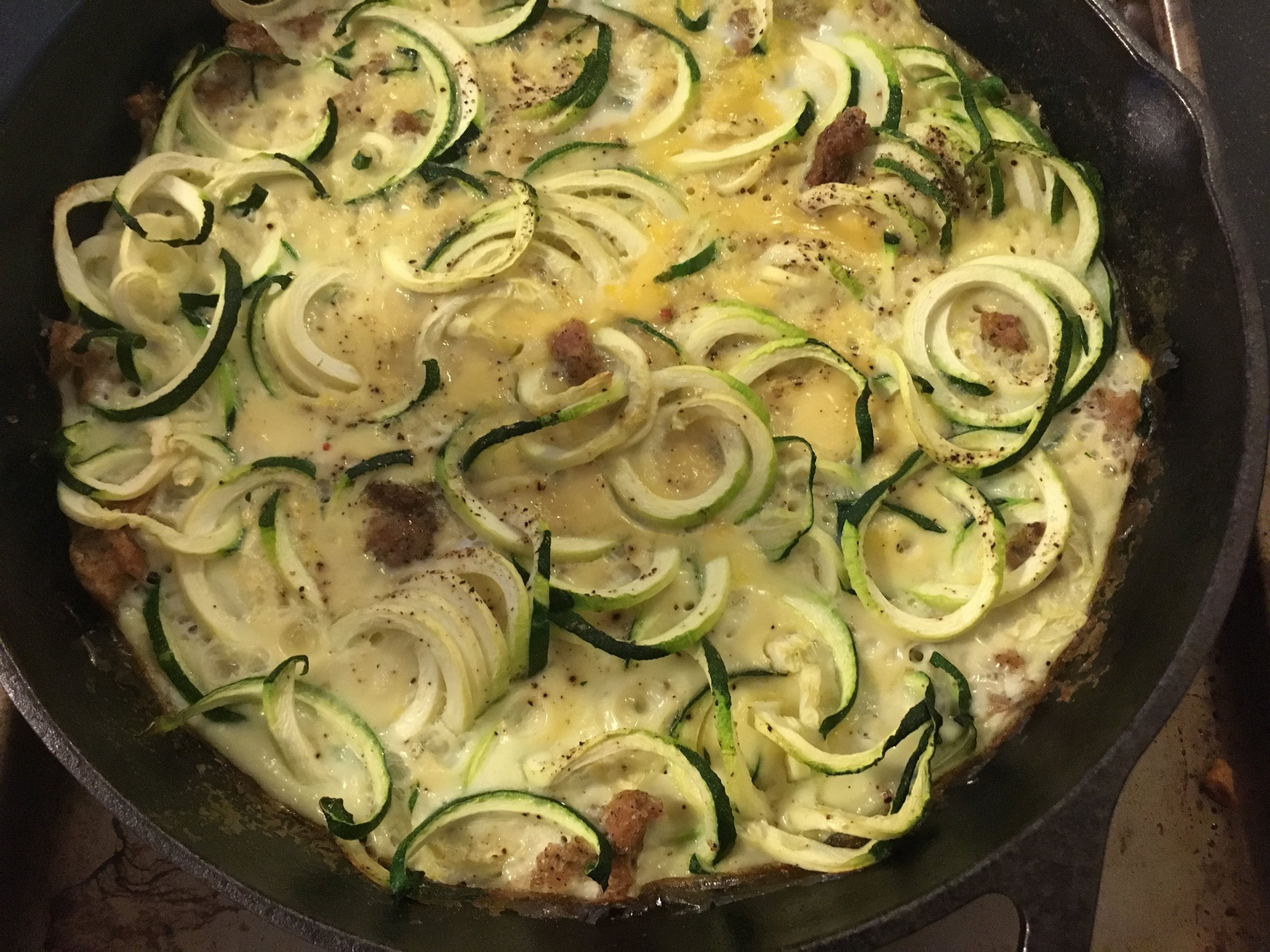 Zoodle Frittata