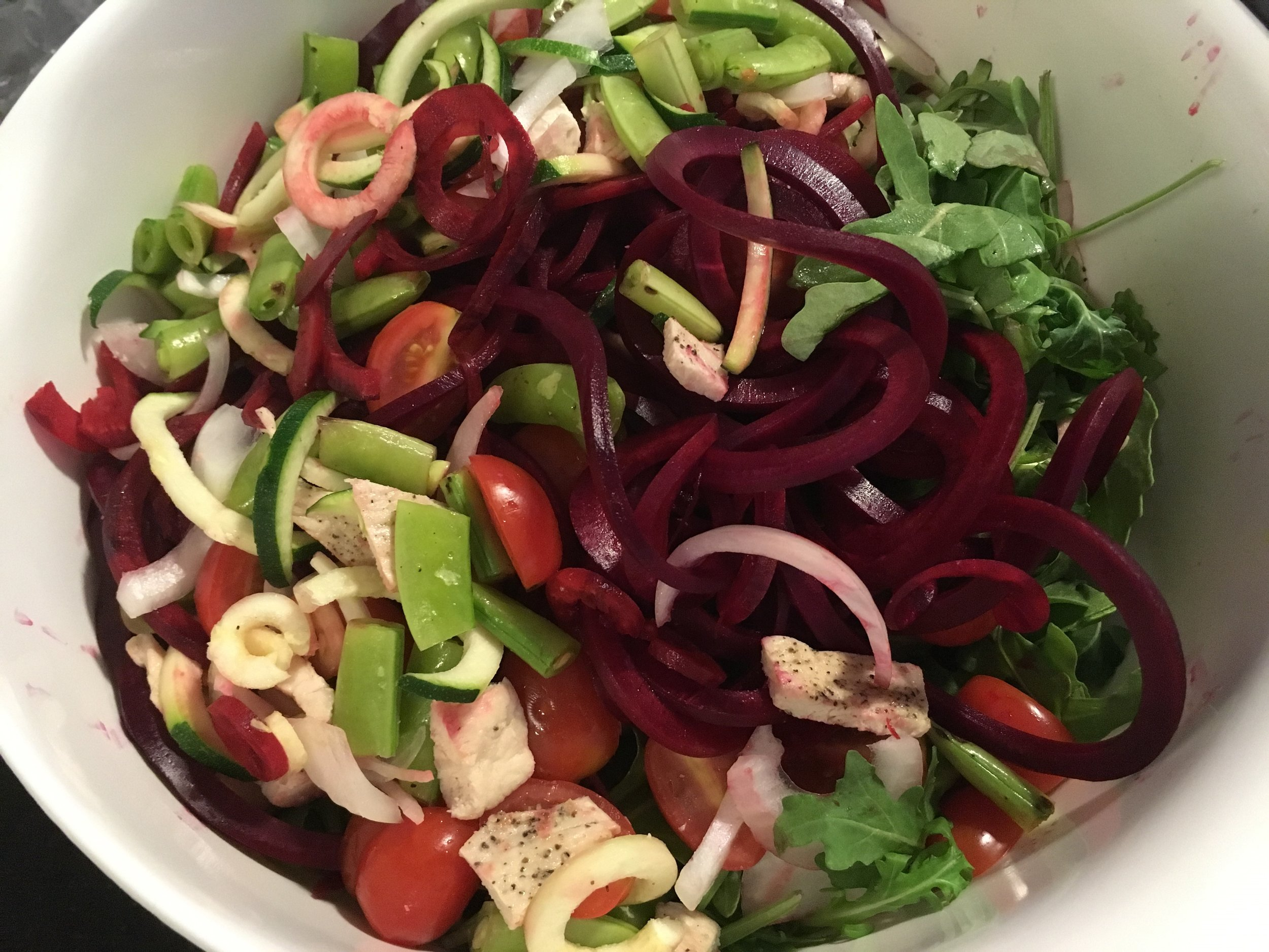 Beet Zoodles