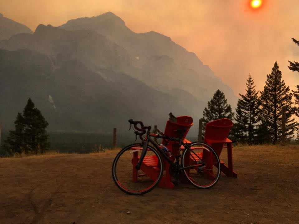 Banff to Canmore Bike Ride
