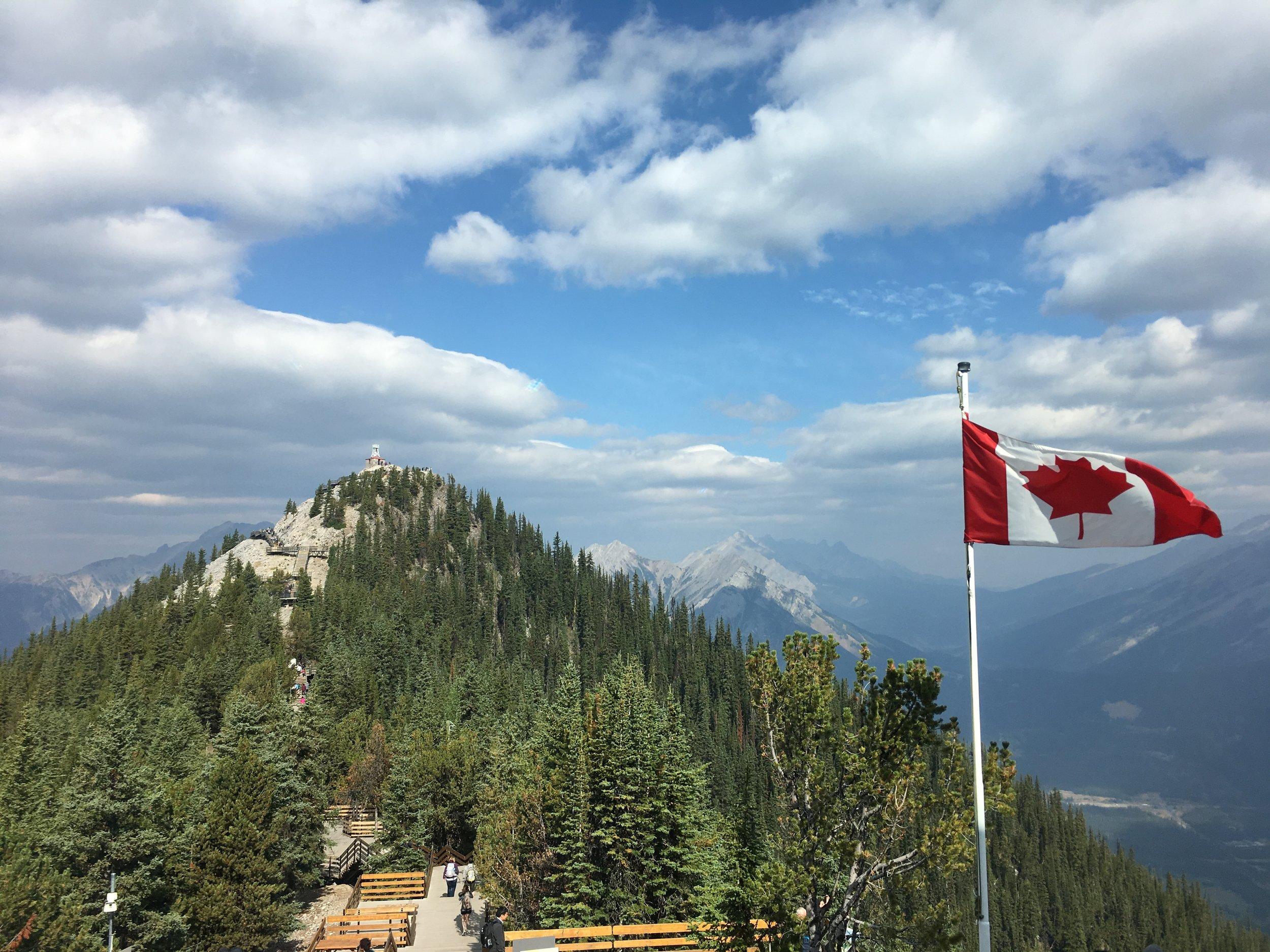 Sulphur Mountain Hike Banff