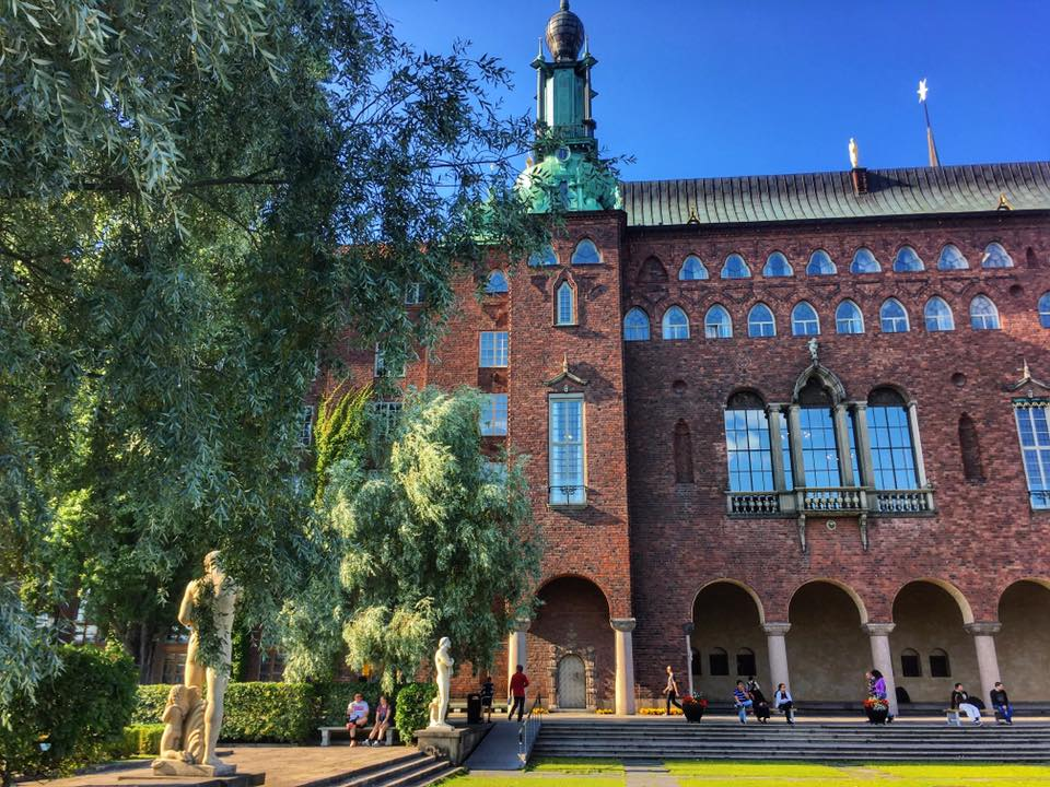 Stockholm City Hall Grounds