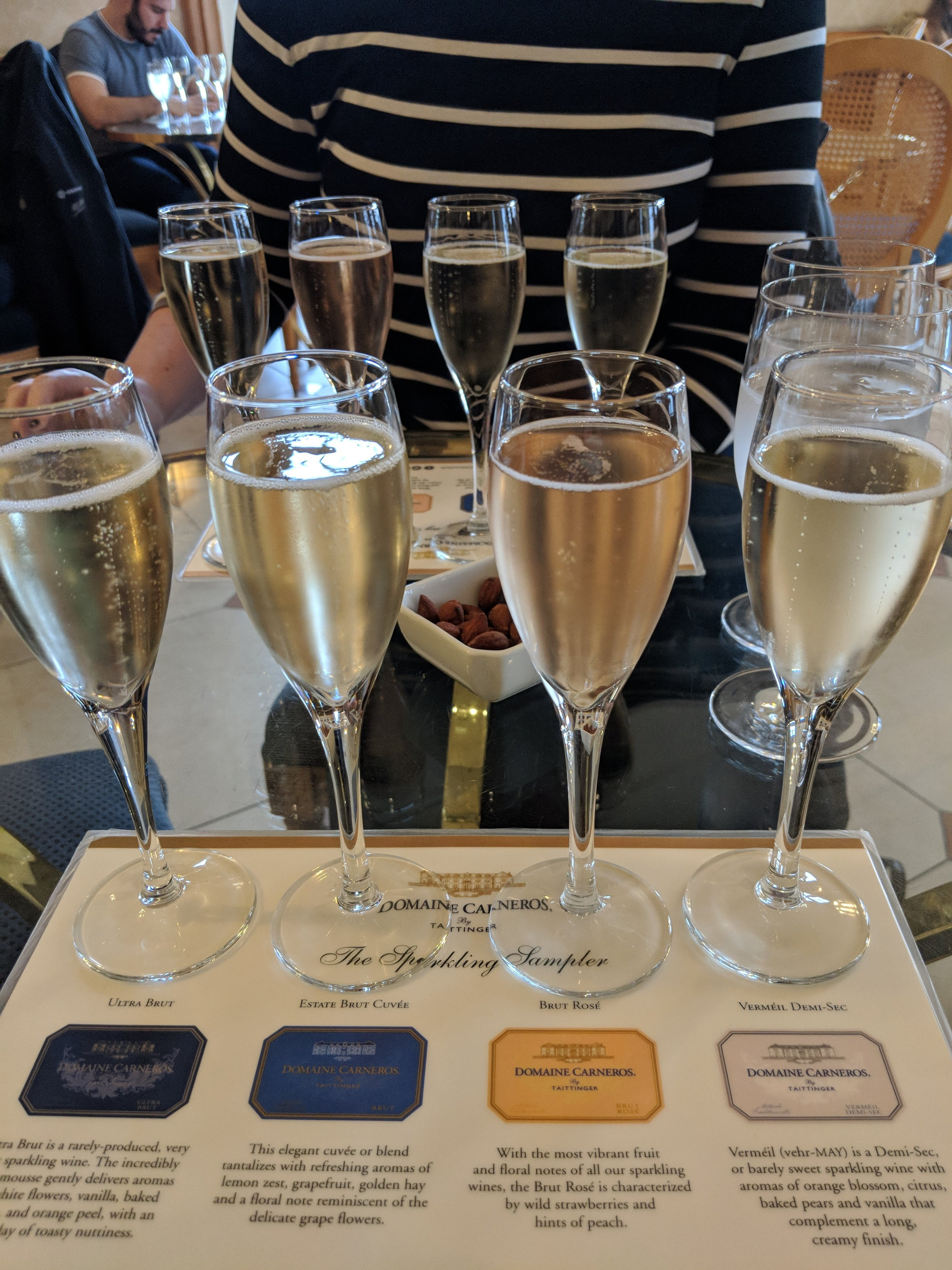 Domaine Carneros Champagne Flight