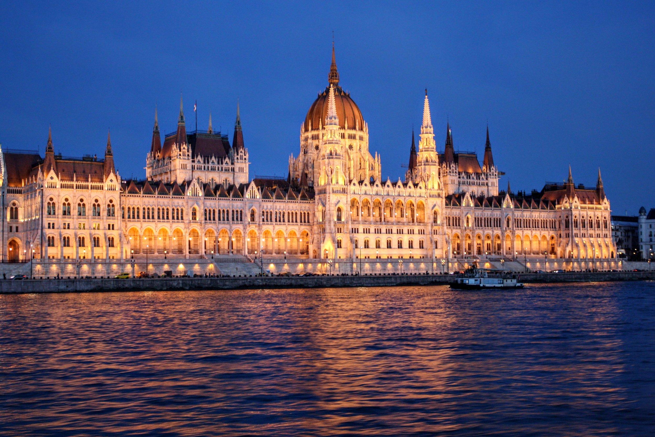 Danube River Night Cruise