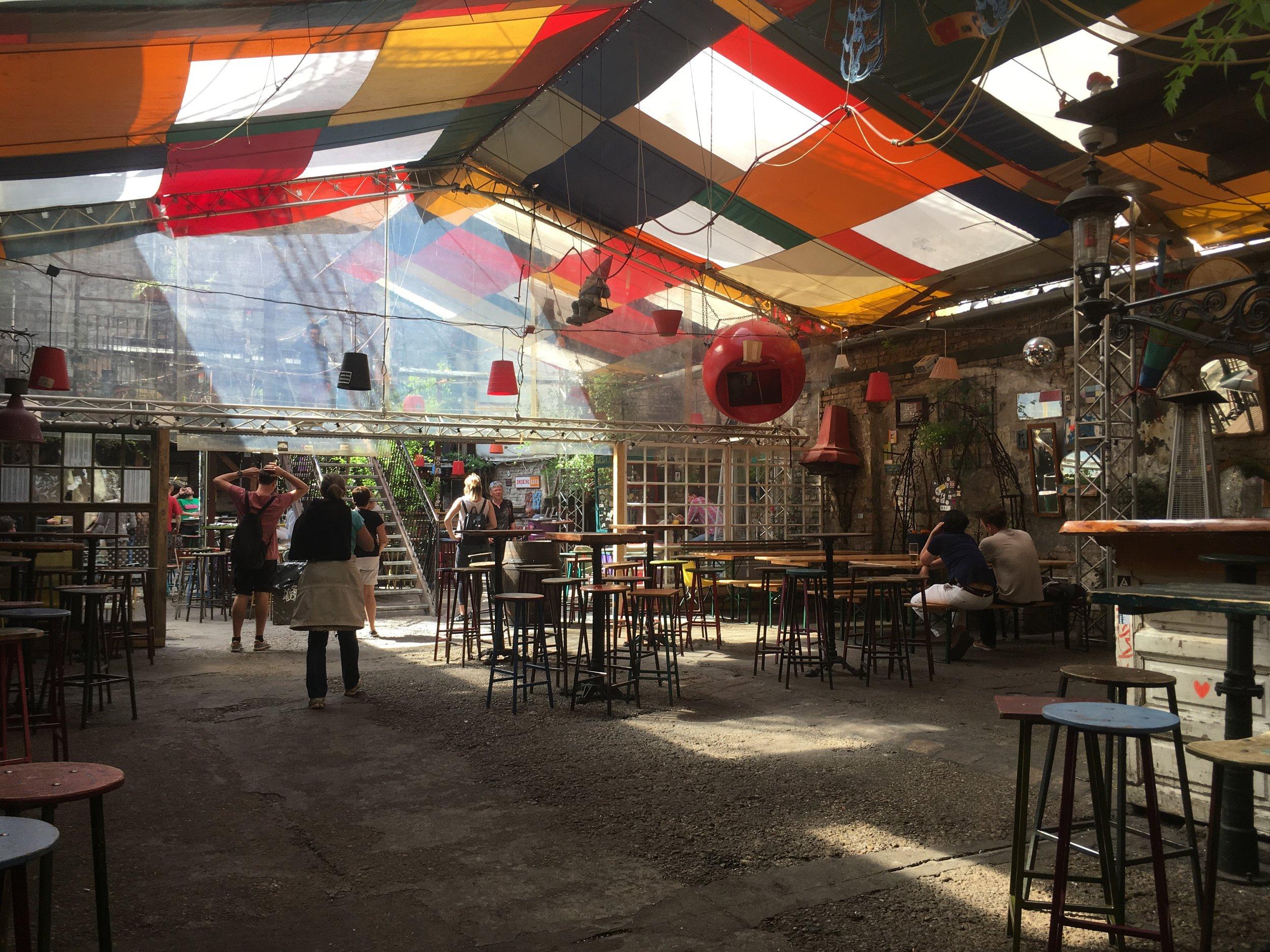 Szimpla Kert Budapest Review