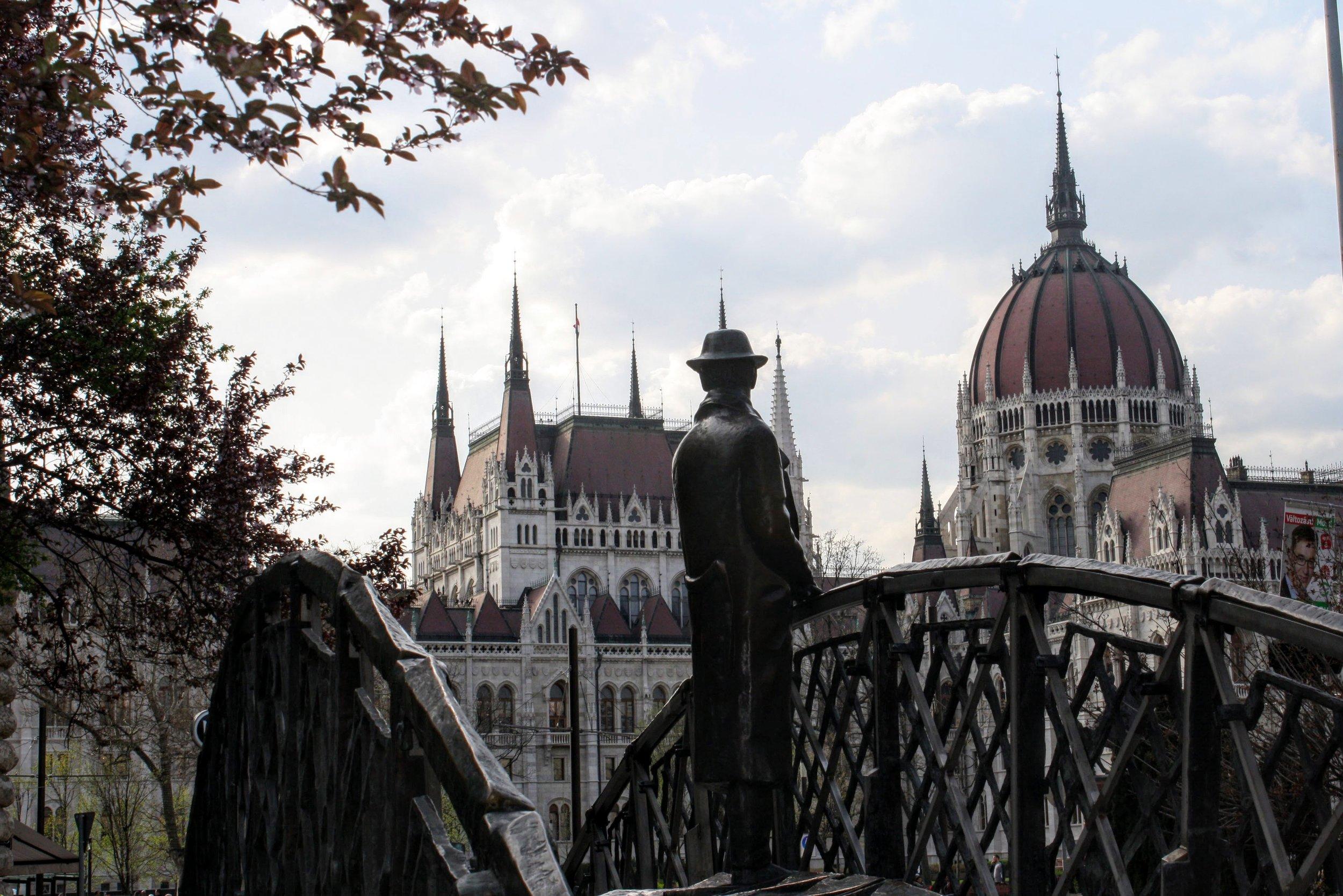 Imre Nagy Statue Budapest