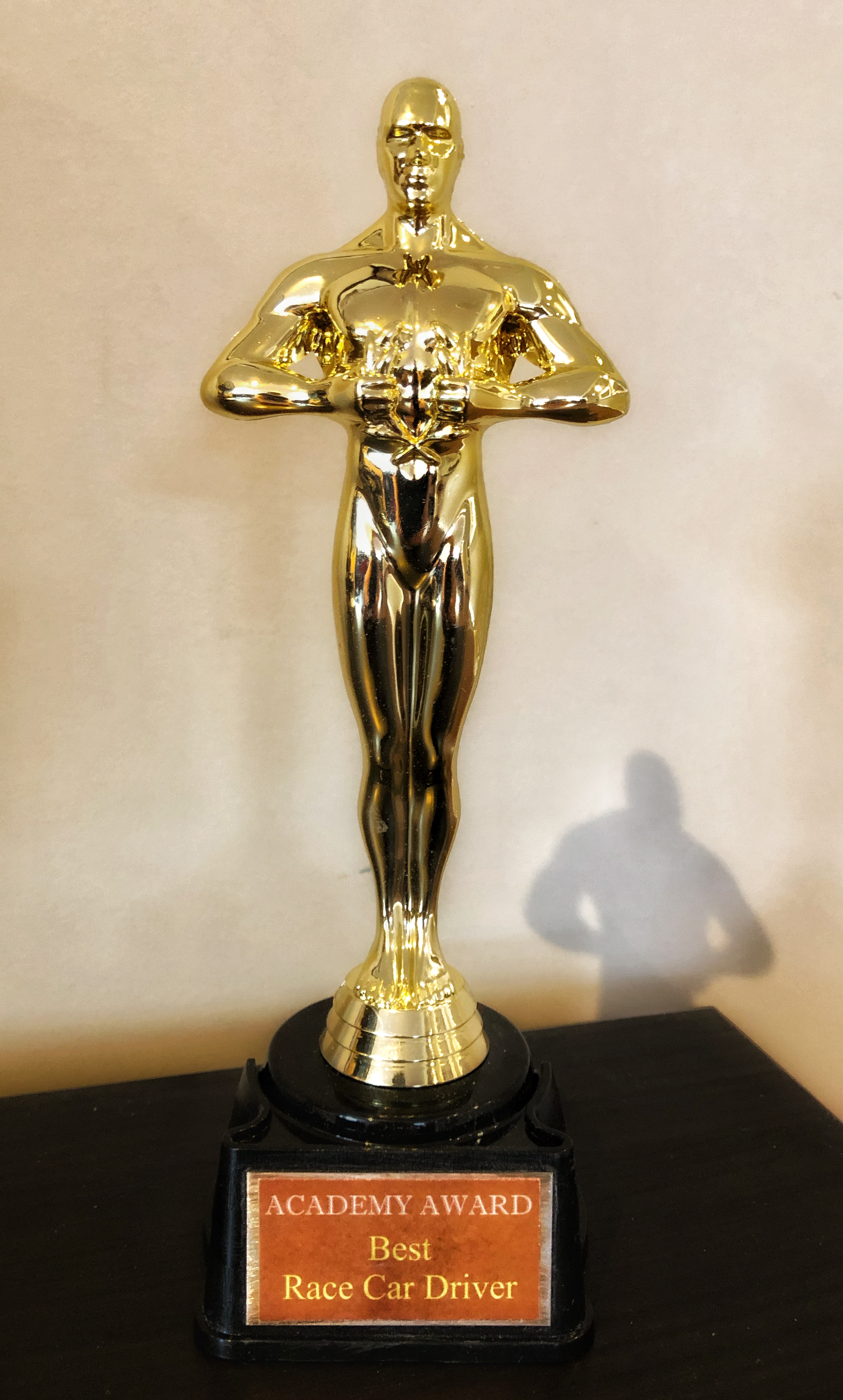 What? Me worthy? - The Academy has spoken.