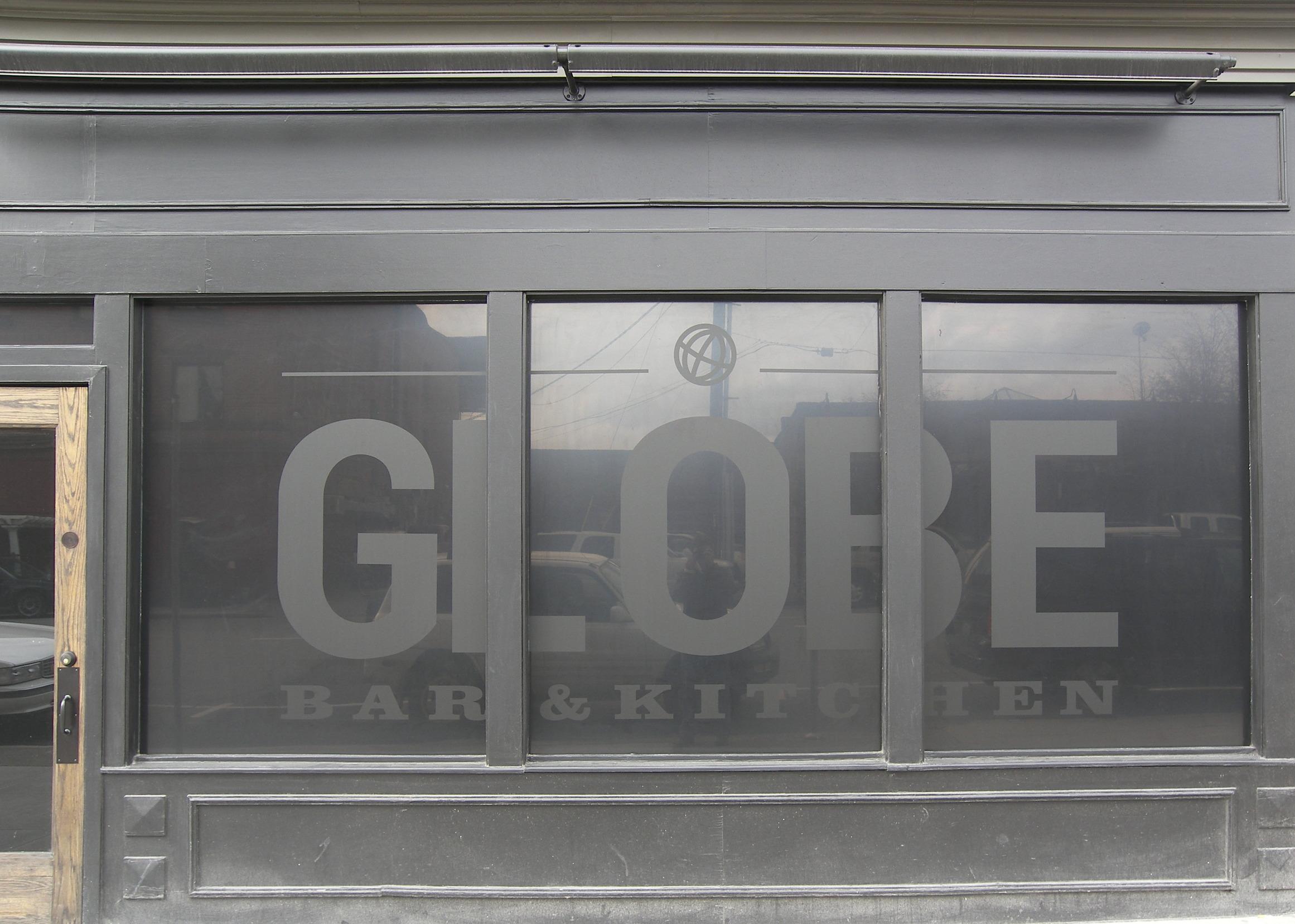 The Globe Window Graphics