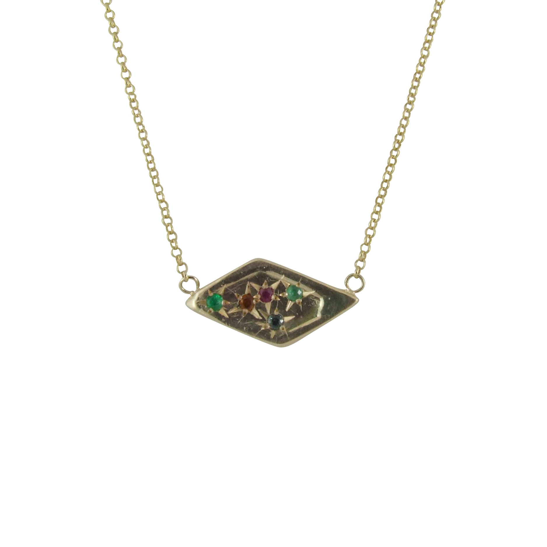 mother necklace (side one)