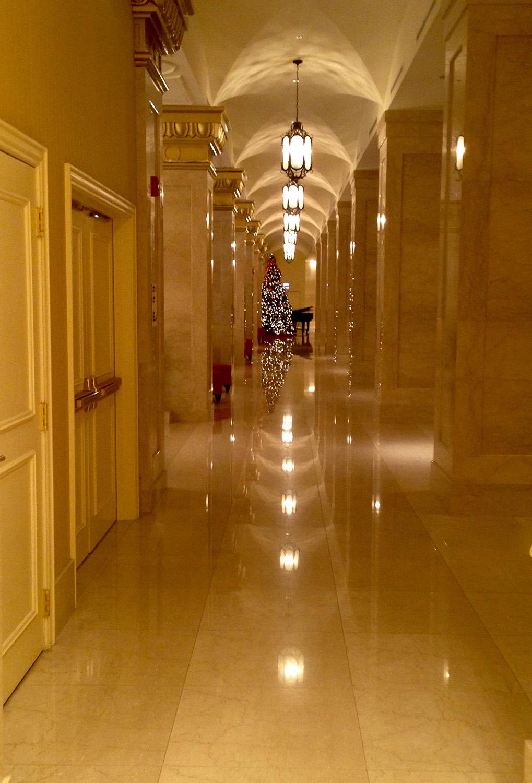 JW Marriott Hallway