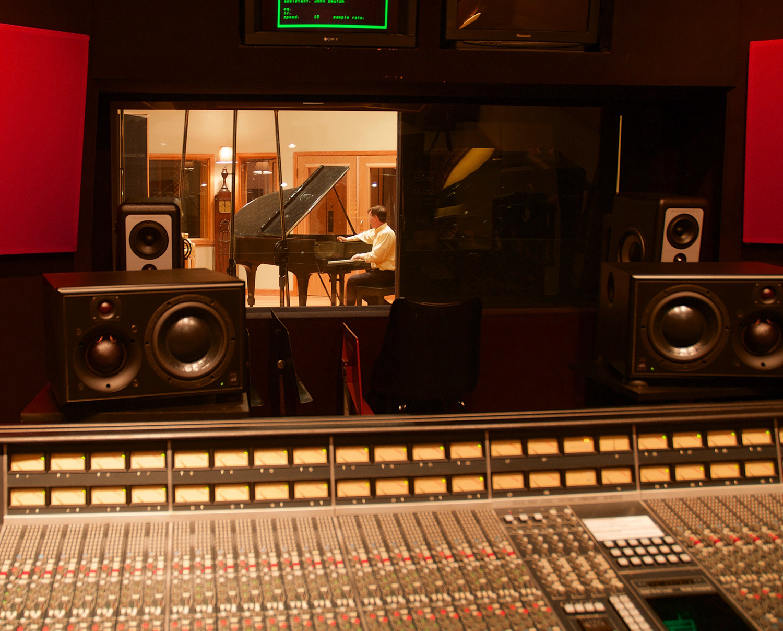 Tuning in a recording studio