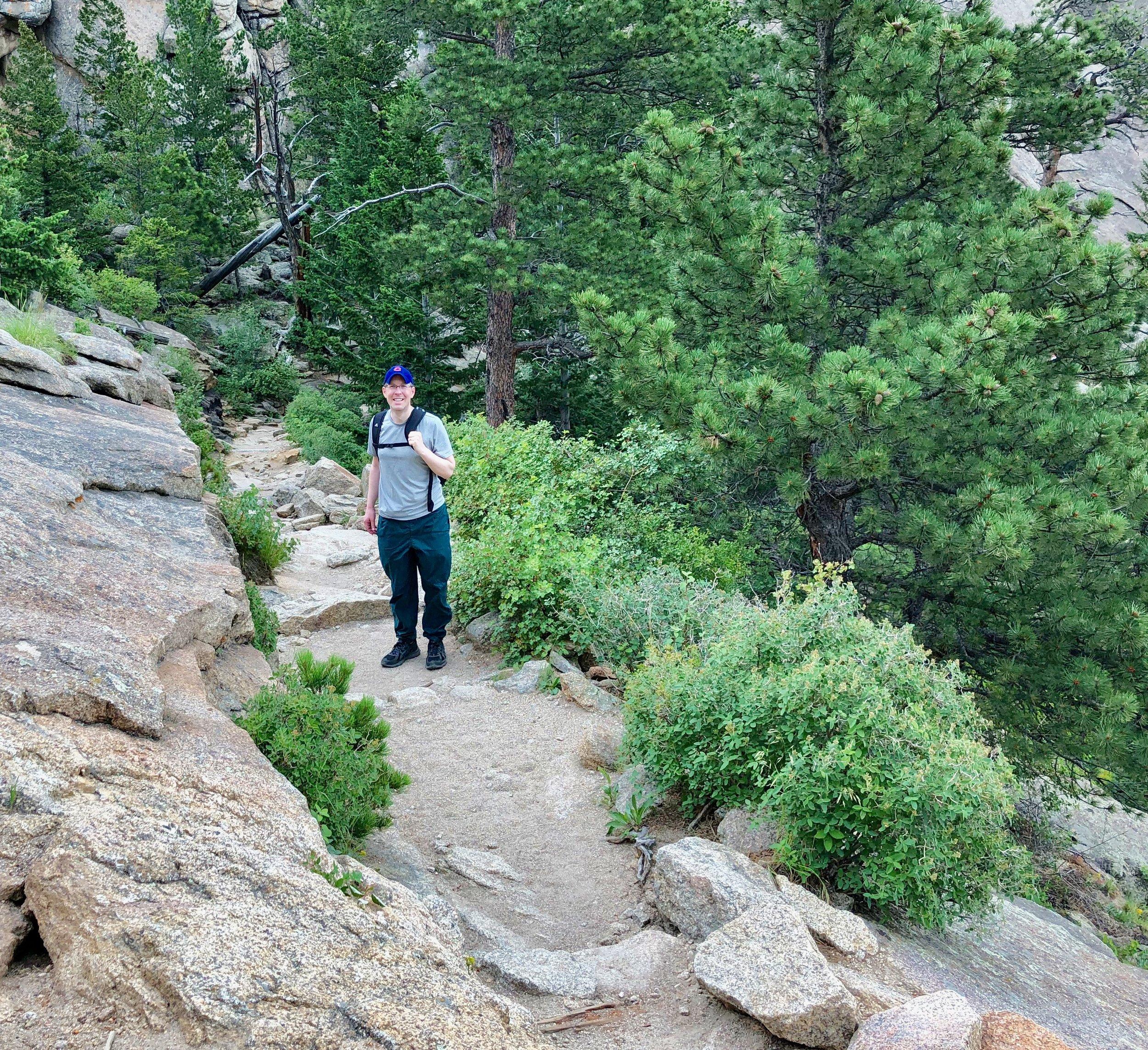 Hiking to Gem Lake