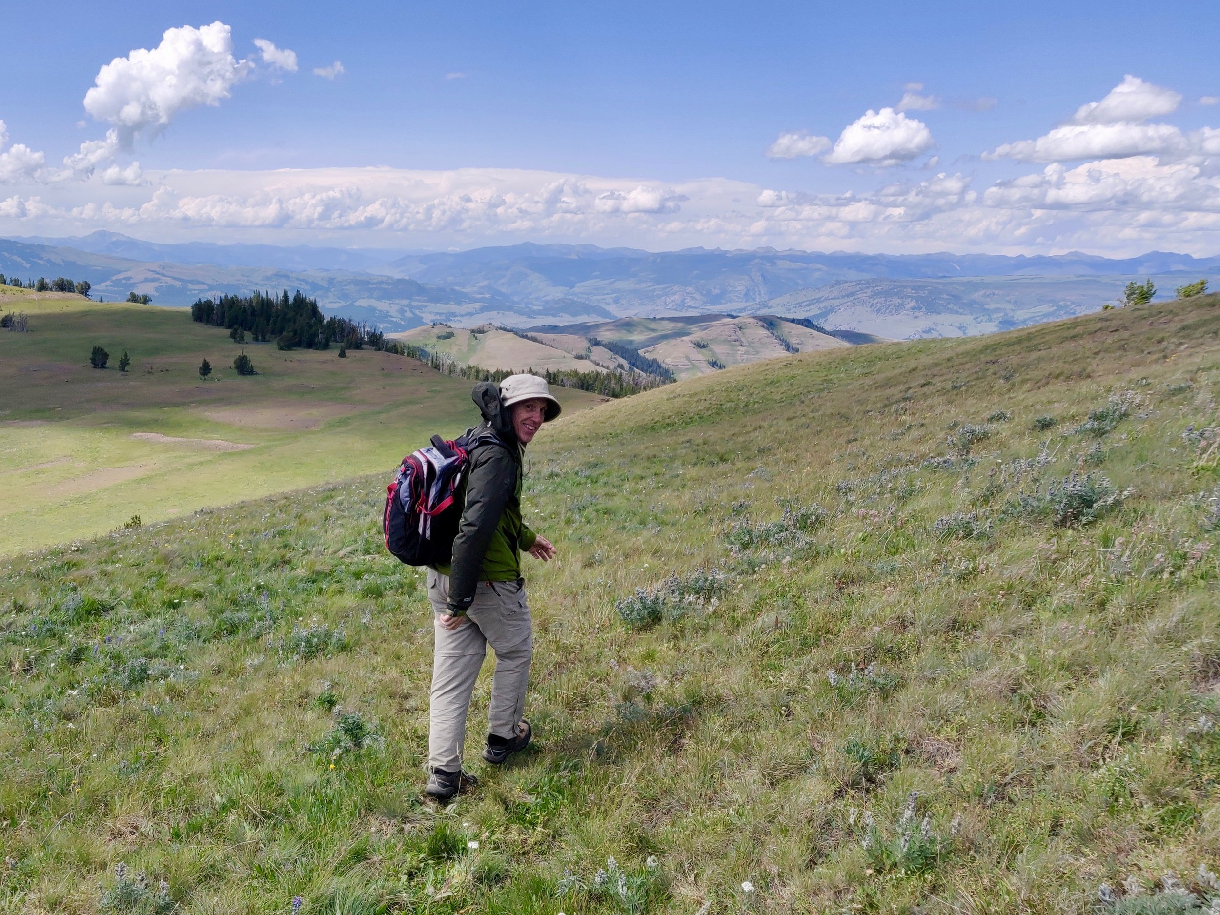 An 11 mile gradual climb. 3,300 foot elevation gain (believe me that's a lot!)