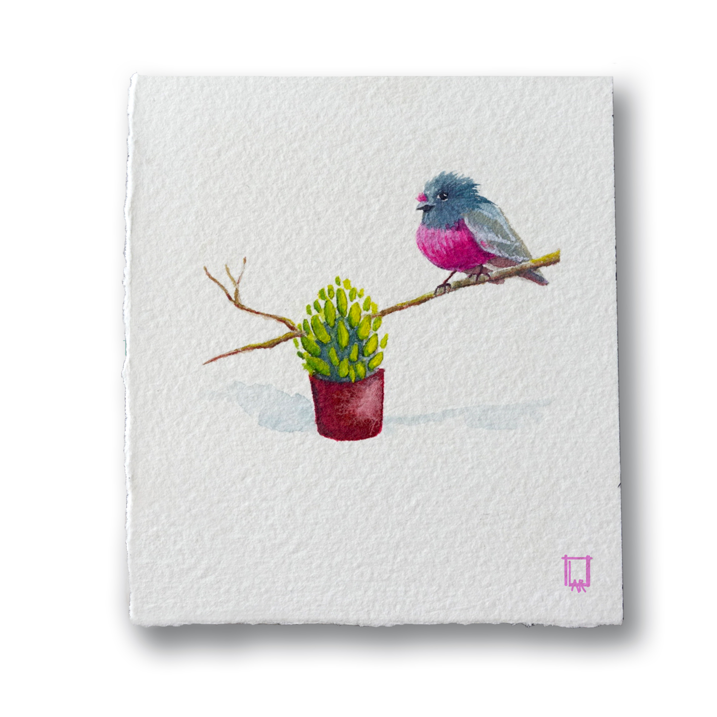 Plant & Bird 4