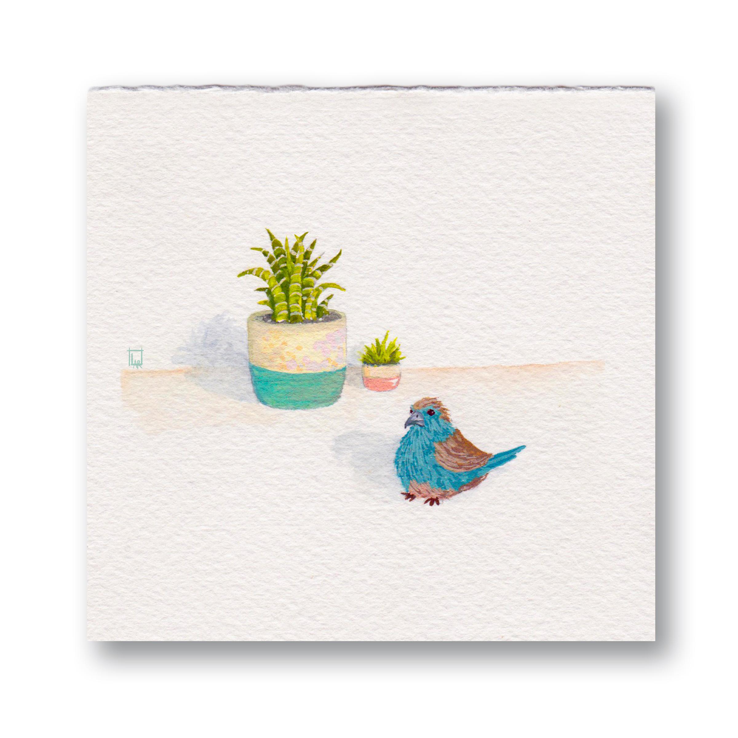 Plant & Bird 3