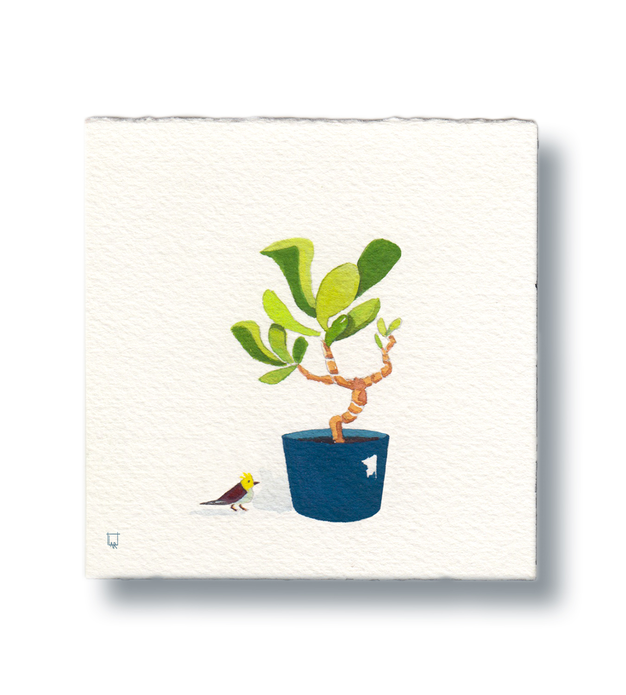 Bird & Plant 1