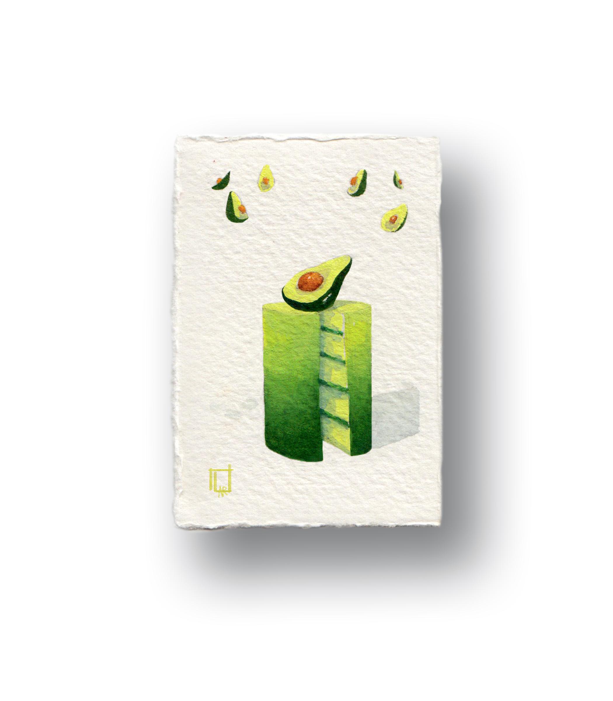 Mini Avocado Cake