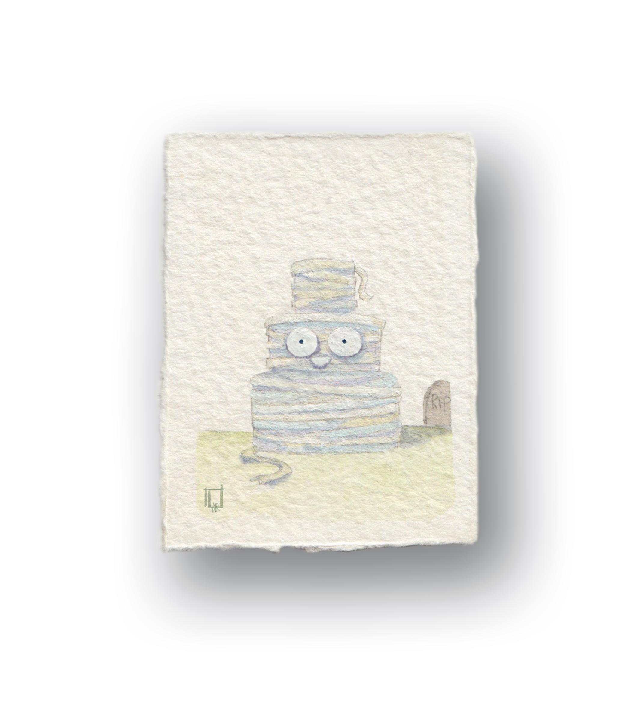 Mini Mummy Cake