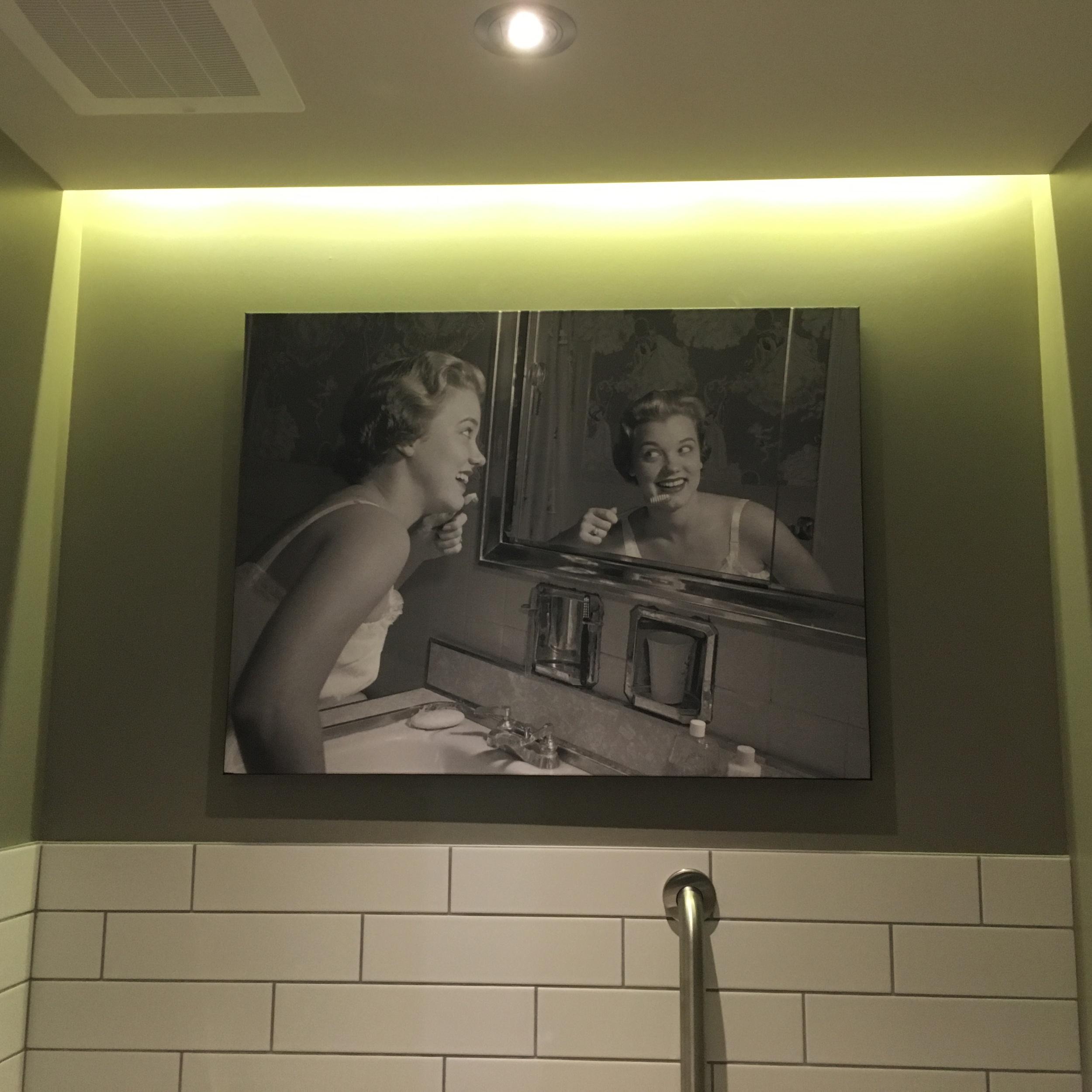 Yep, that's our bathroom