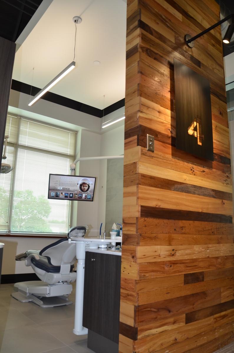 Dental Treatment Room with Netflix
