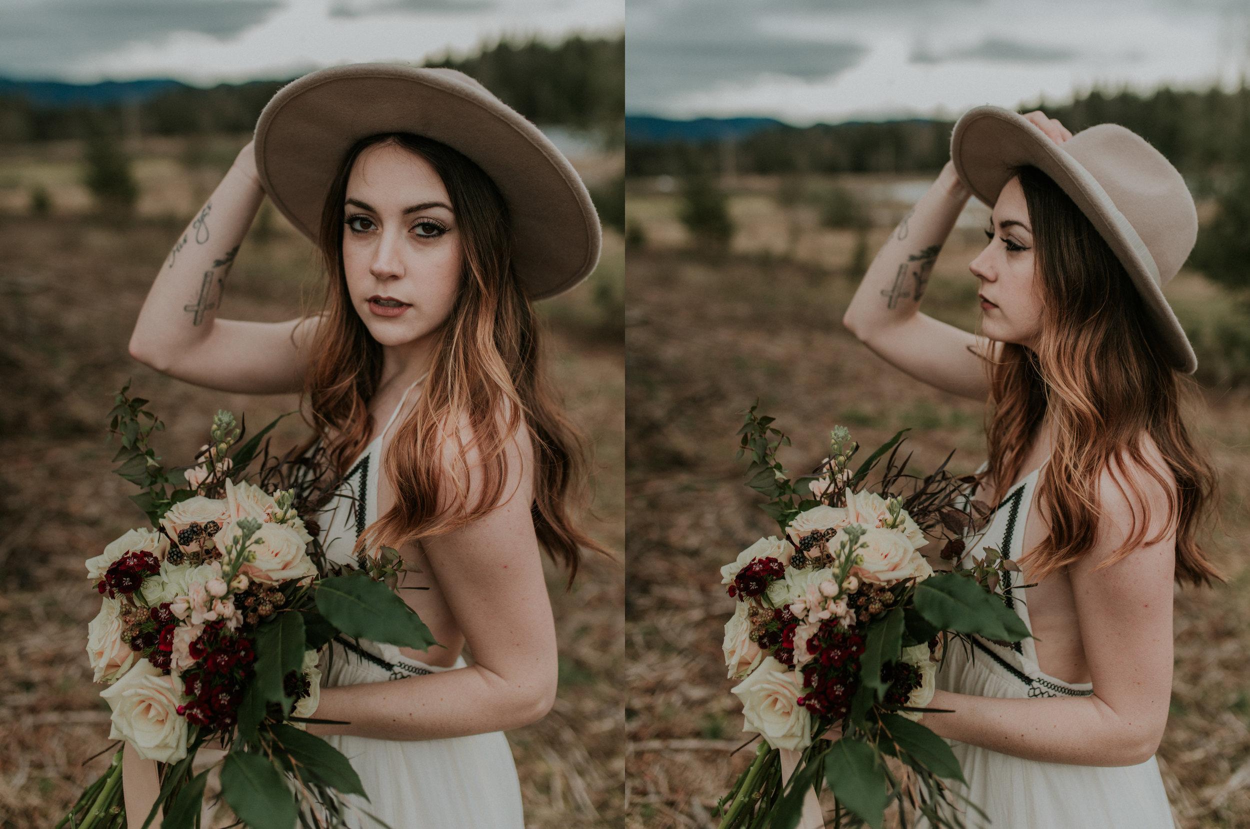 midwinter bridal inspiration