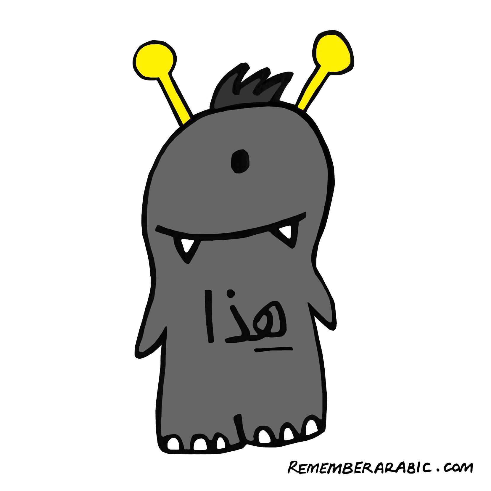 Fig. 4 Haa-tha [singular, near, masculine]