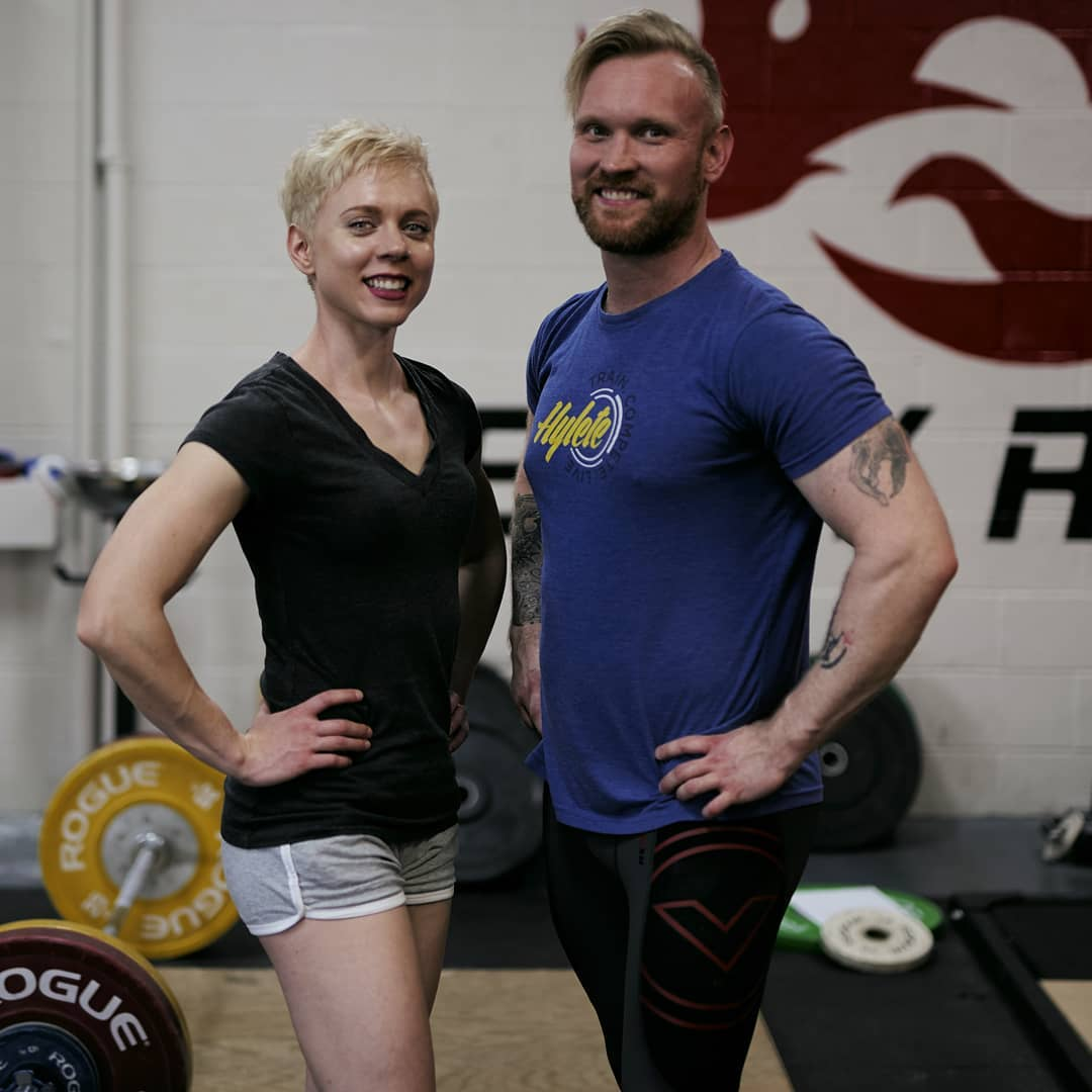 NASM-Certified trainers Katie Ford and Michael Doolittle