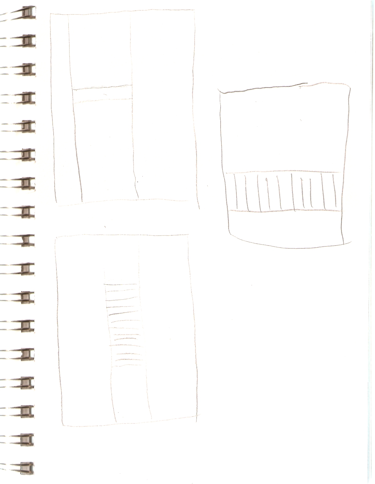 actual page from my sketchbook of the planning of this quilt