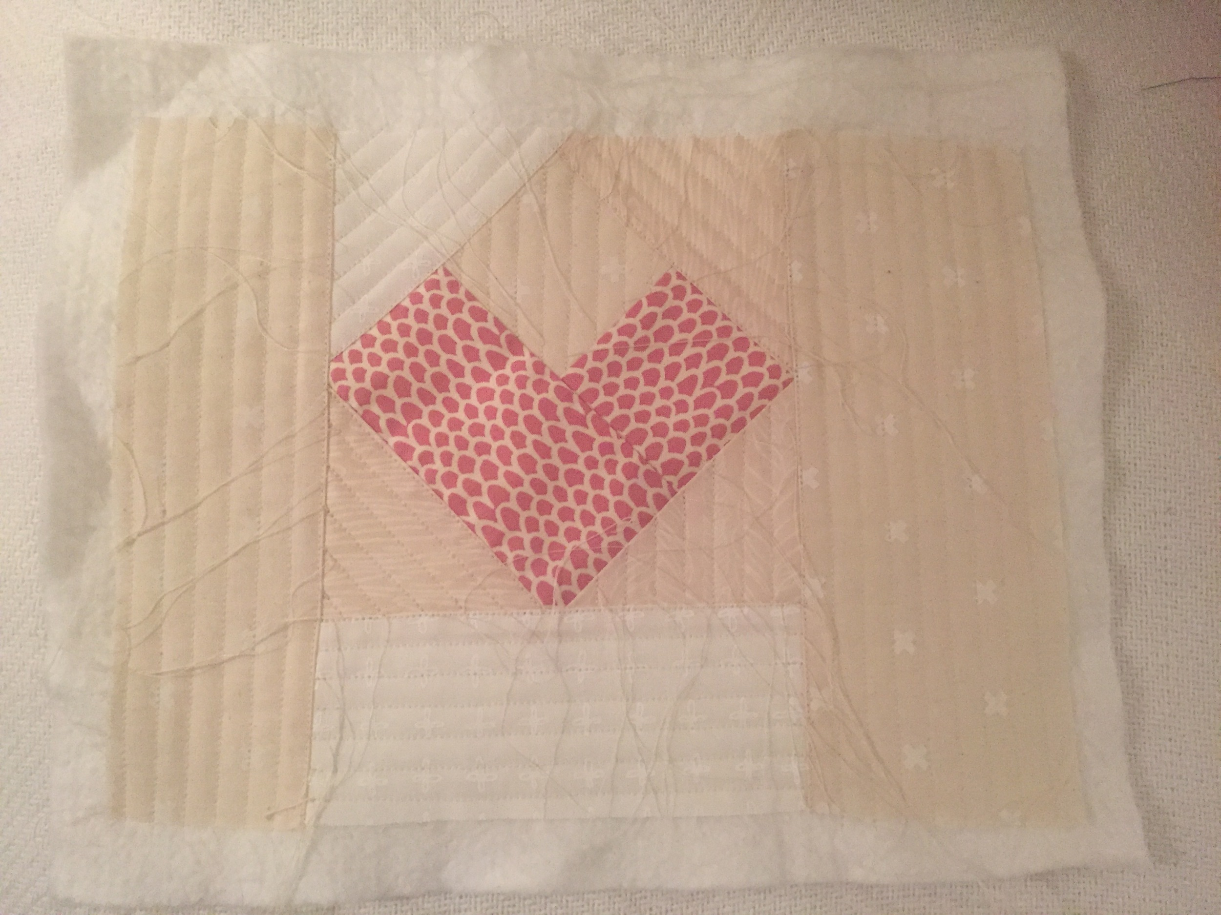 quilted! I sent this pic to a friend and she said it made her feel like she needed to floss.