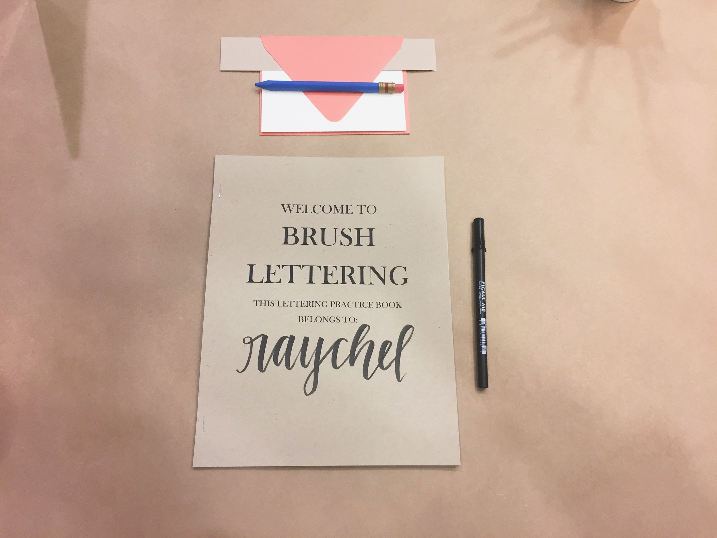 Who doesn't love seeing their name written all pretty?!