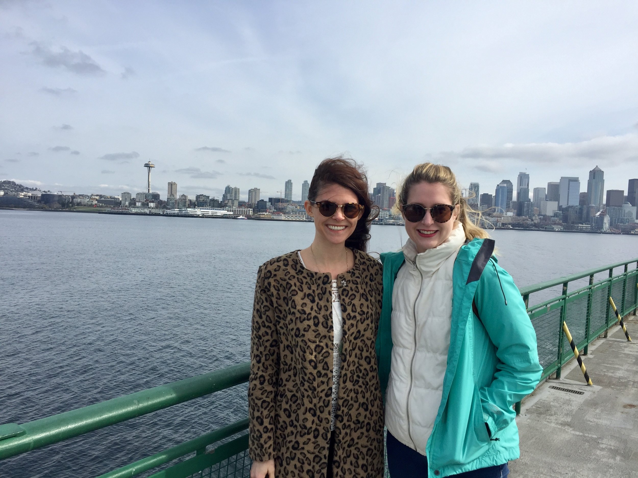 had to get a ferry pic with the space needle in the background duh.
