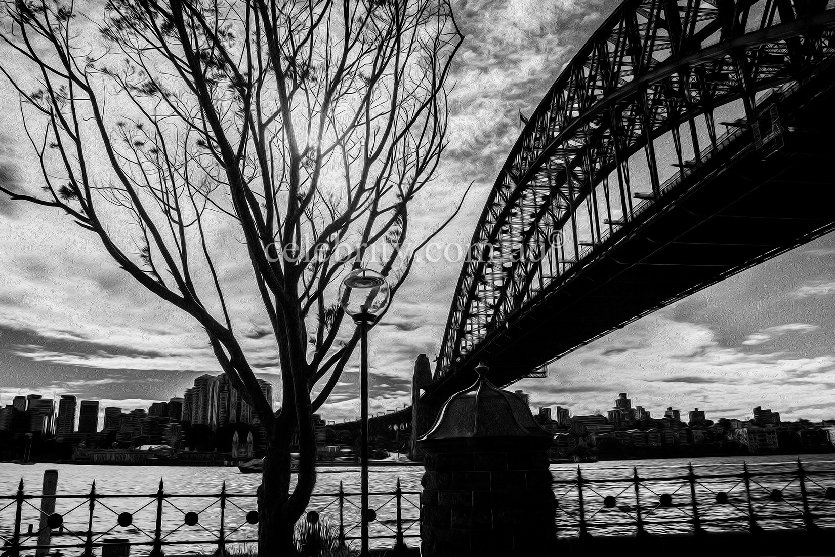 Harbour Bridge @ Winter