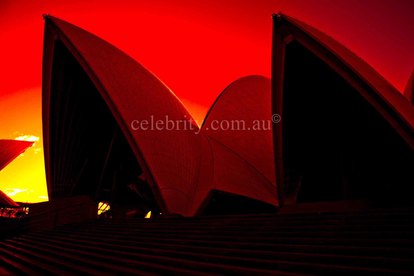Sunset Sydney Opera House