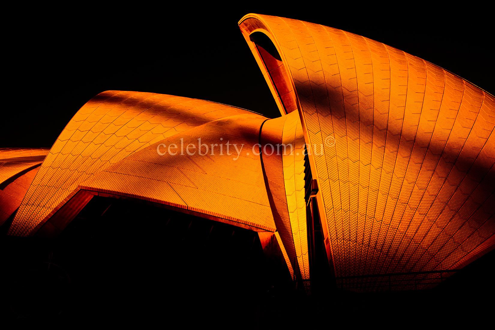Shadow Over Sydney Opera House