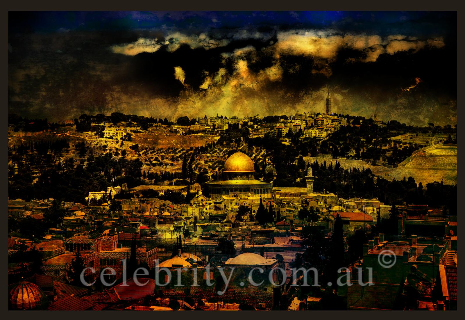 Jerusalem-20x30 inches