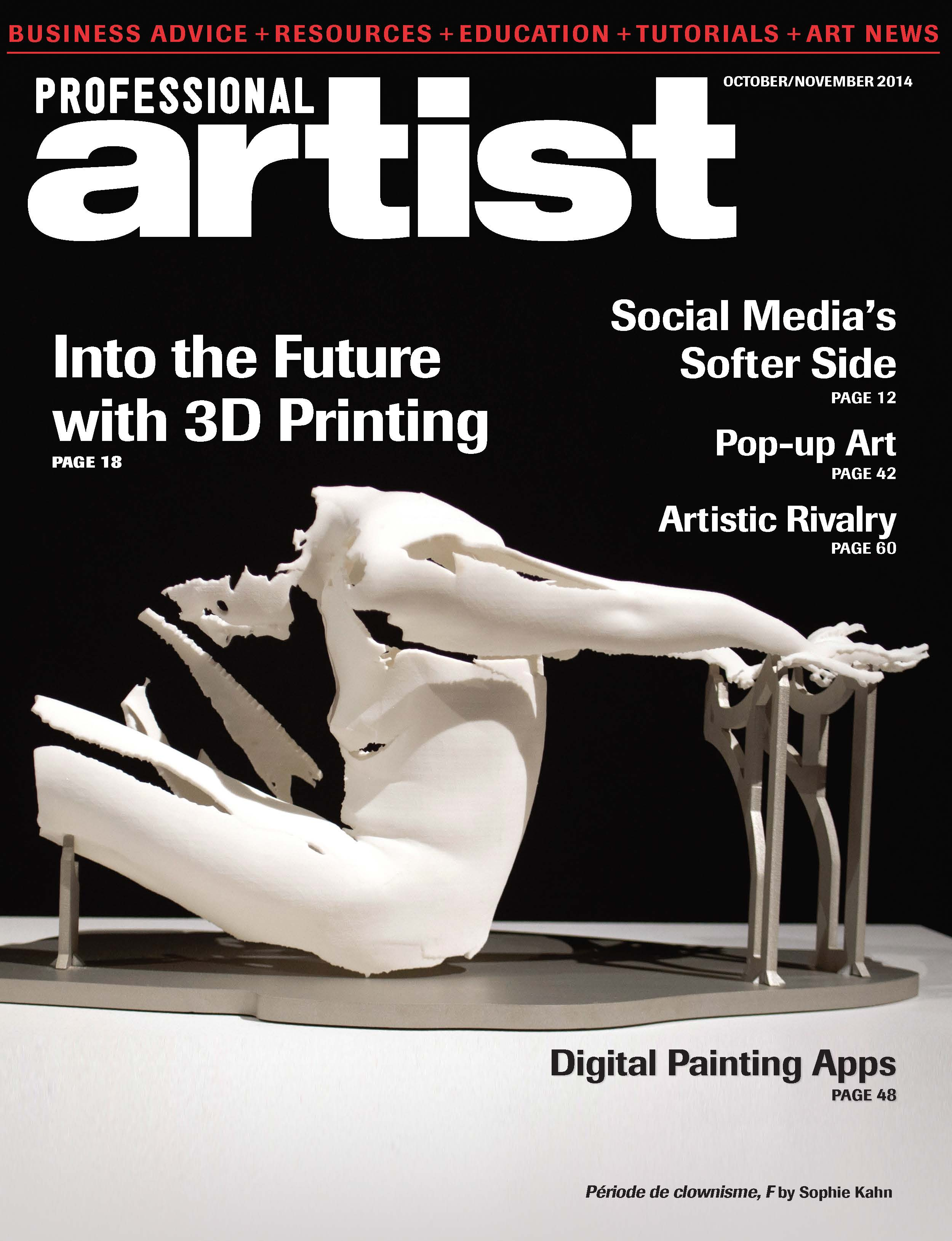 3D Printing for Artists  in  Professional Artist