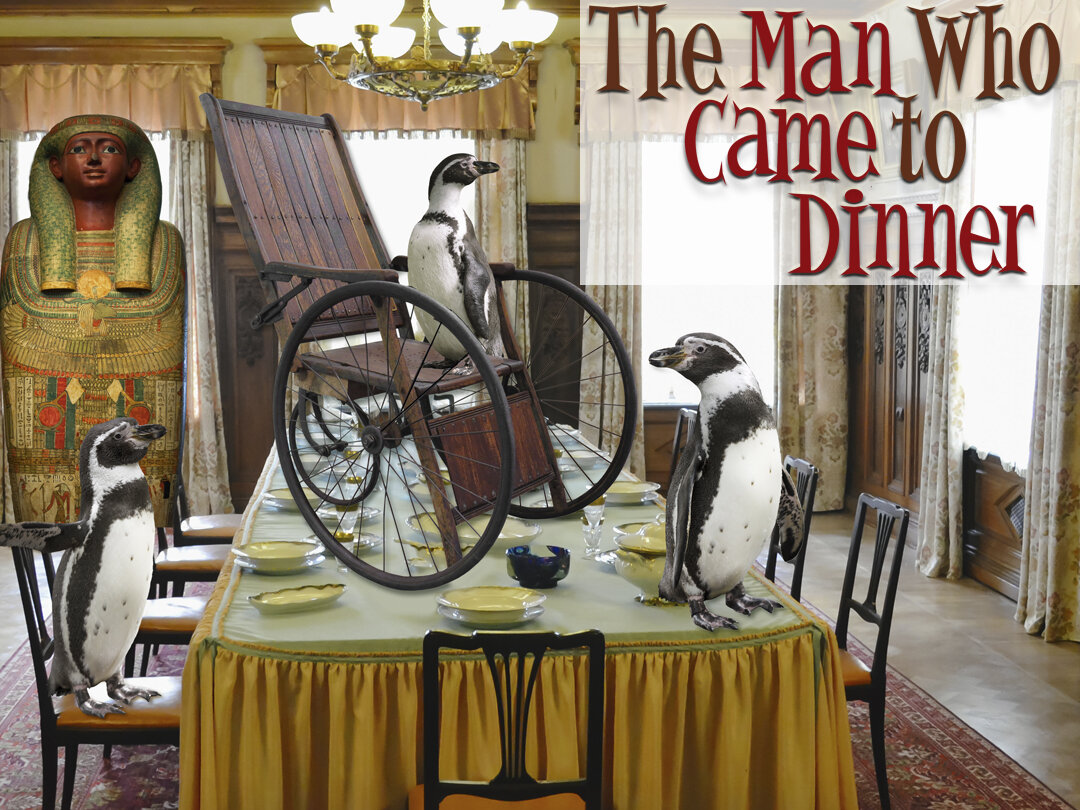 The Man Who Came to Dinner - Dec. 6 - Jan. 12 at The Group Rep Theatre in North Hollywood