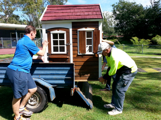 Cubby House Restoration Work – MOSS