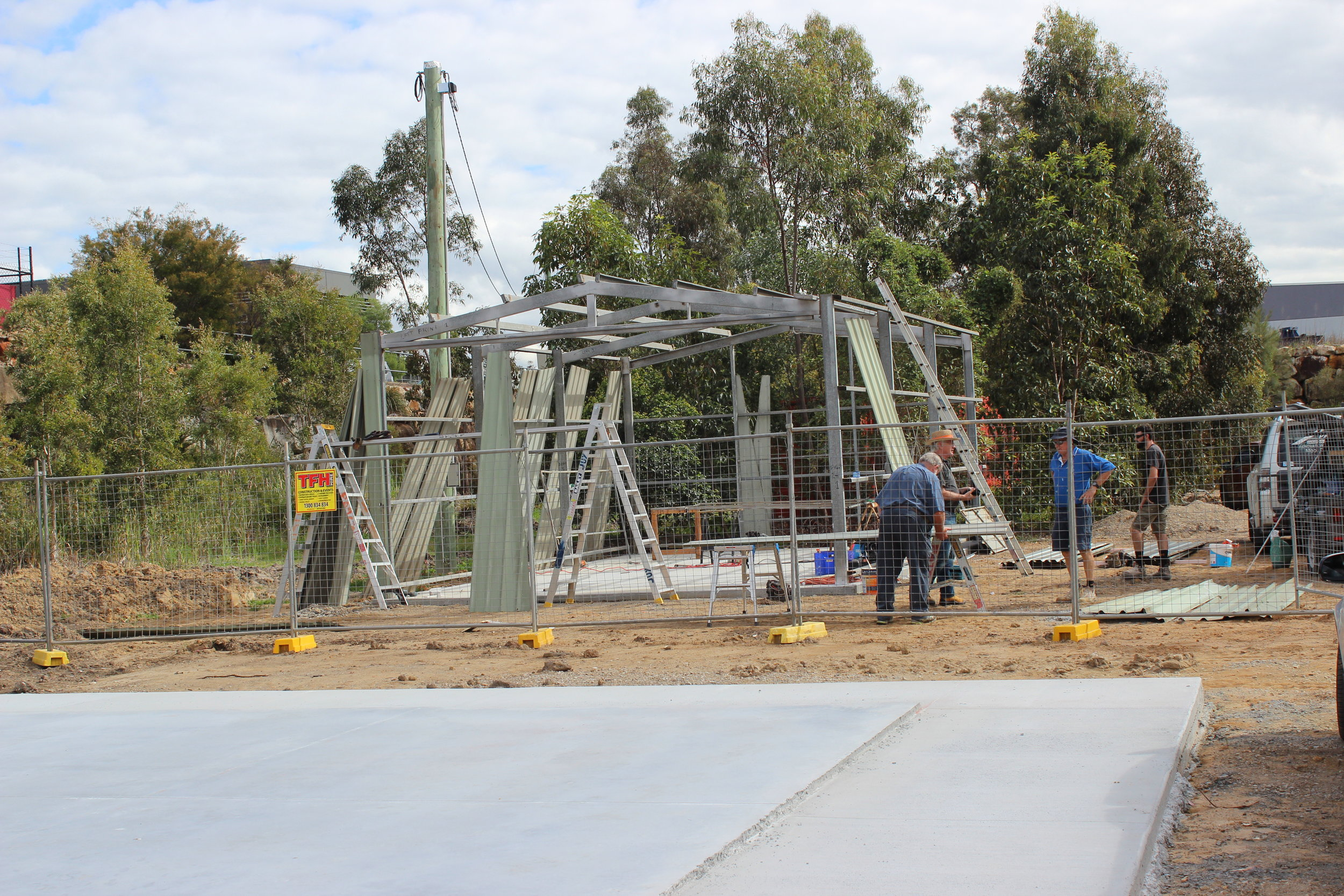 The Oxley shed framework