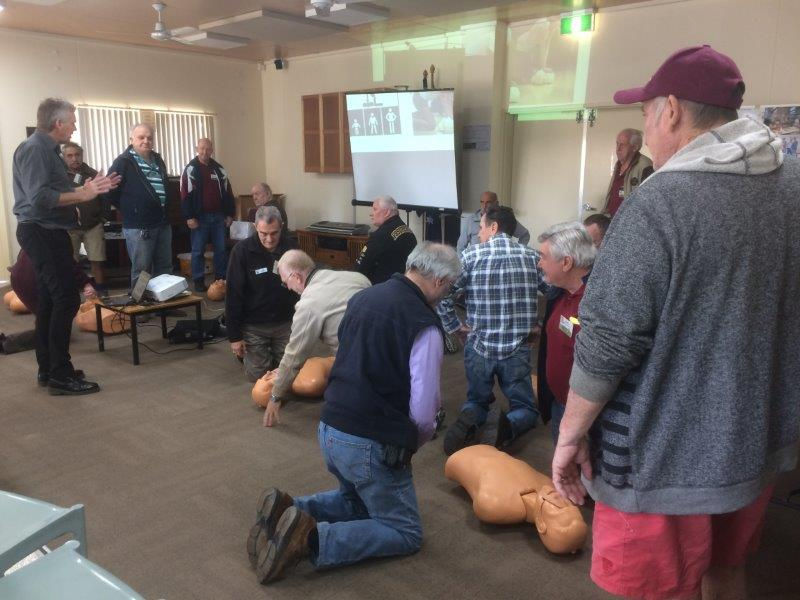 FIRST AID TRAINING - JULY 13 2017
