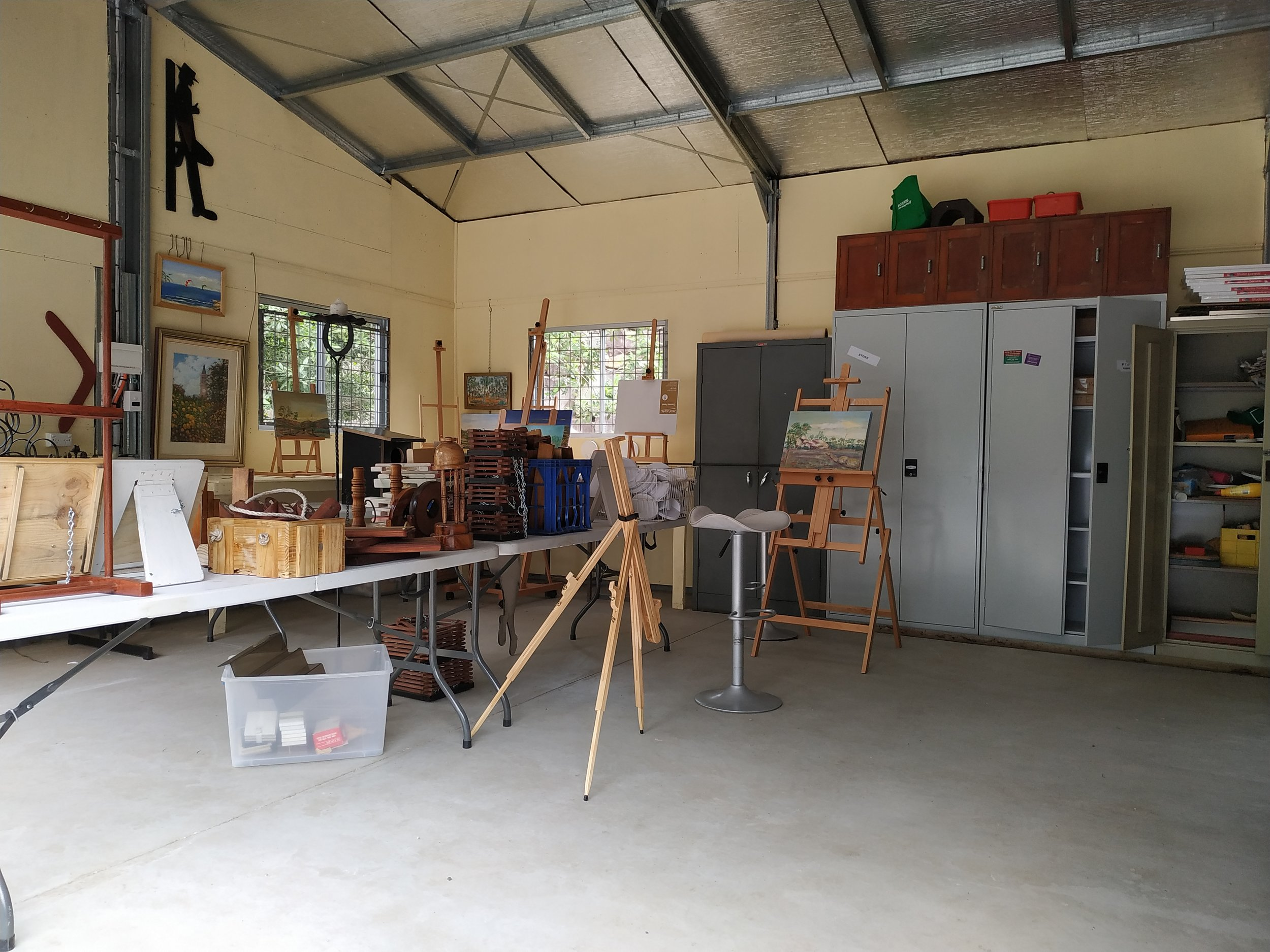ARTS SHED