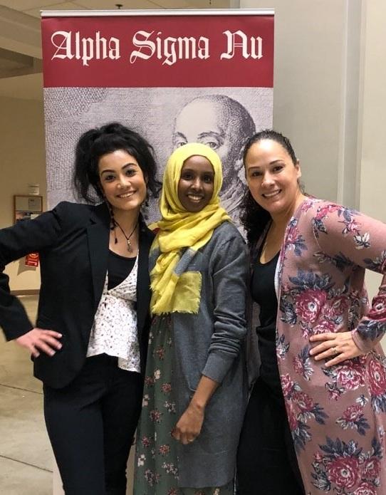 Three of the inductees, Chhavi Mehra, Farhia Hassan and Stephanie Sanchez
