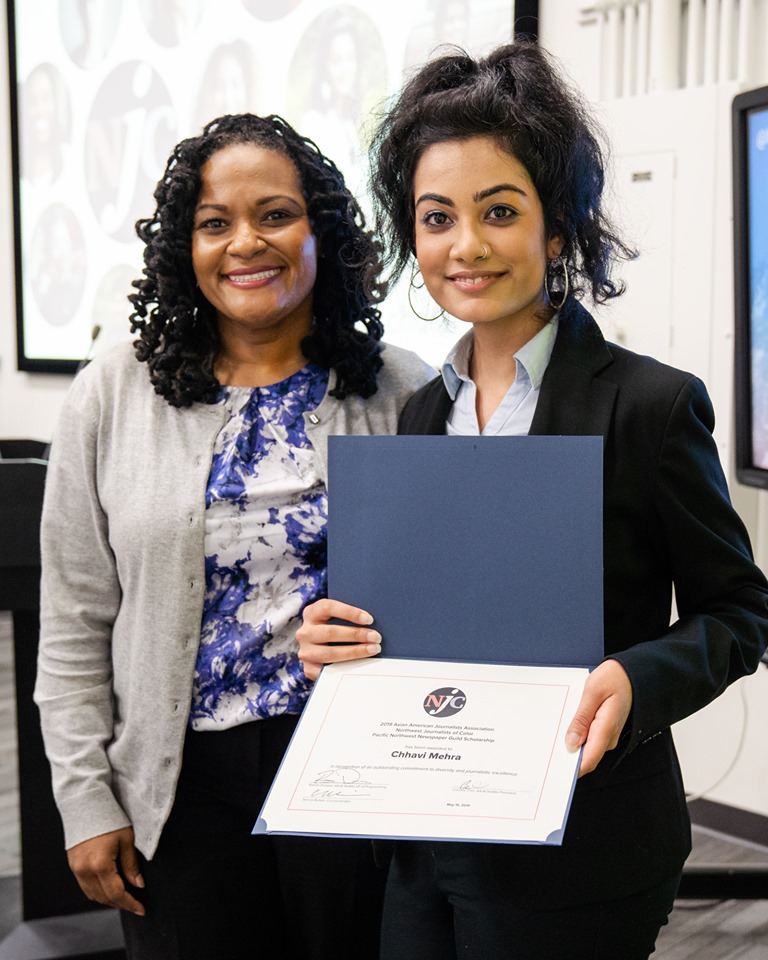 Dr. Kimberly Harden and Chhavi Mehra