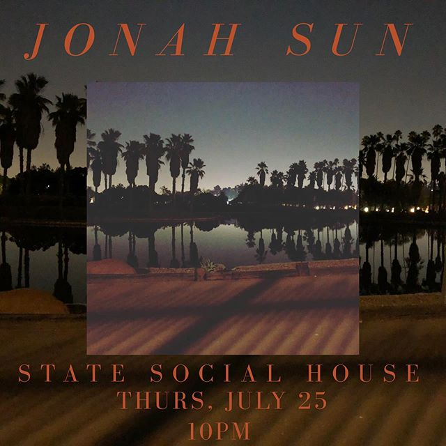 !!!LA THIS THURSDAY NIGHT!!! Mark your calendars and come thruuuu. I play at around 10pm. Come early for some great music from @imgitai @iamraeya @merlotembargo @hylandchurch. It's gonna be a good one 👋🏽✨🗣 . . . . . . #livemusic #statesocialhouse #jonahsun #westhollywoodmusic #lamusicscene #losangeles #hollywoodmusic #livemusicians #thursdaynight #losangelesmusic #bayareamusicians #statesocialhousehollywood #livemusicconcert #weho